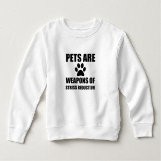 Weapon of Stress Reduction Pets Sweatshirt