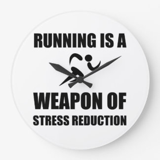 Weapon of Stress Reduction Running Clocks