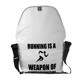 Weapon of Stress Reduction Running Commuter Bags