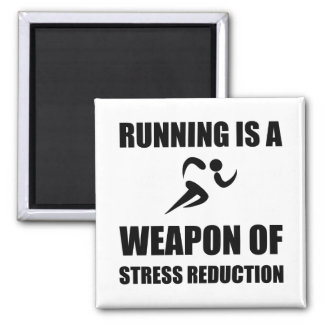 Weapon of Stress Reduction Running Square Magnet