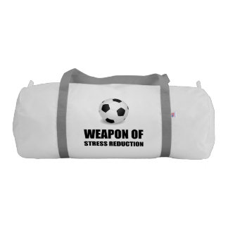 Weapon of Stress Reduction Soccer Gym Bag
