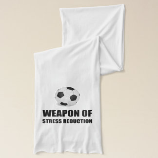 Weapon of Stress Reduction Soccer Scarf