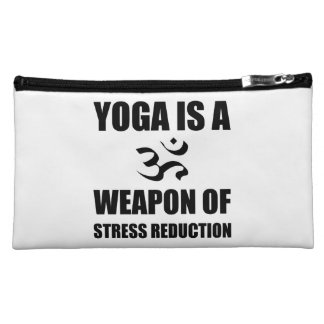 Weapon of Stress Reduction Yoga Cosmetics Bags