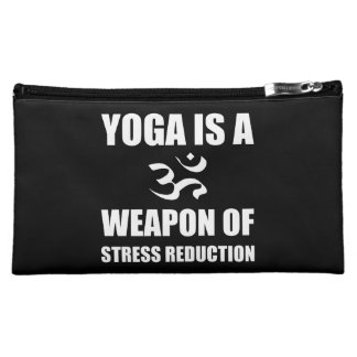 Weapon of Stress Reduction Yoga Makeup Bag