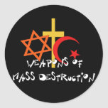 Weapons Of Mass Destruction Stickers
