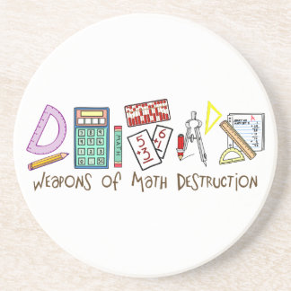 Weapons Of Math Destruction Coaster