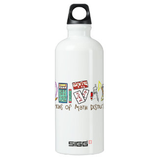 Weapons Of Math Destruction Water Bottle