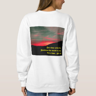 Wear Dawn Haiku 49 Sweatshirt