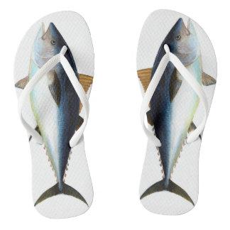 wear fish beauty flip flops