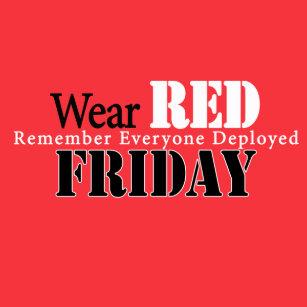 bbaf67d8f Wear Red Friday T Shirts Shirt Designs Zazzle Ca