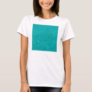 Wear the Teal Ovarian Cancer Awareness T-Shirt