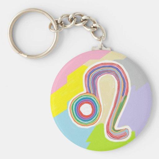 Wear your birth symbol : LEO Zodiac Astrology Key Chains