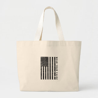 wear your cause large tote bag