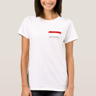 Wear Your Label: Customizable T-Shirt