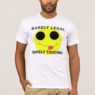 WEARE18's Barely Legal, Barely Touched Band TEE
