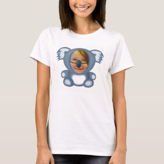 Wearing a Koala Suit Photo Template T-Shirt