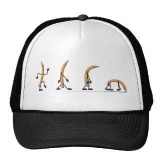 Wearing Down Trucker Hat