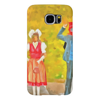 Wearing Swiss traditional costumes Samsung Galaxy S6 Cases