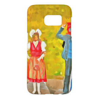 Wearing Swiss traditional costumes Samsung Galaxy S7 Case