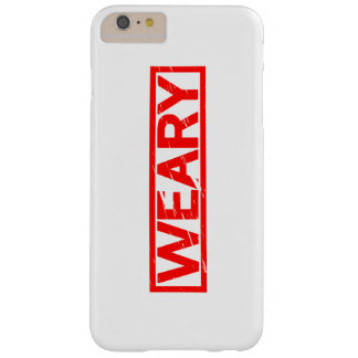 Weary Stamp Barely There iPhone 6 Plus Case