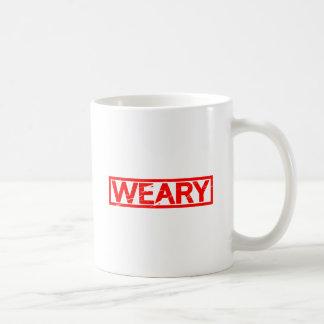 Weary Stamp Coffee Mug