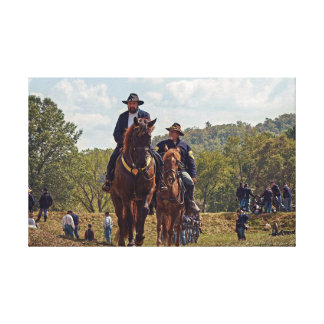 Weary Union Soldiers Canvas Print