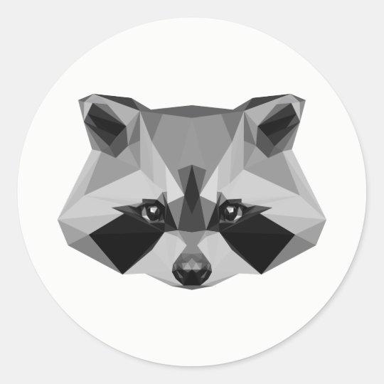 weasel classic round sticker
