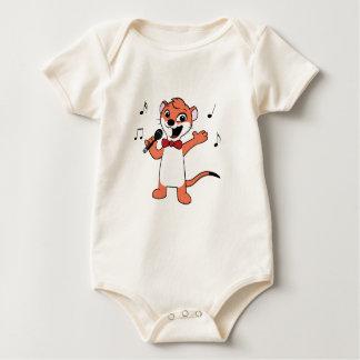 Weasel-mascot Baby Bodysuit