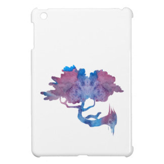 Weasel on a tree cover for the iPad mini