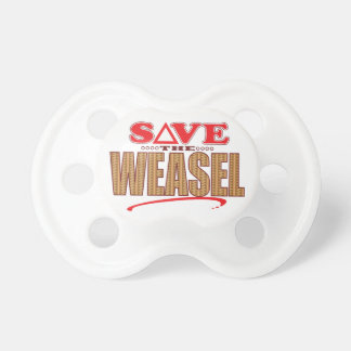 Weasel Save Baby Pacifiers