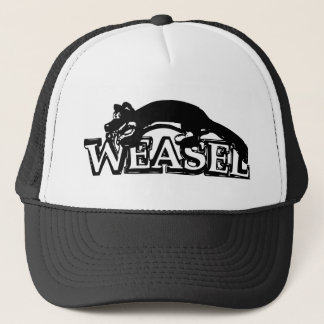Weasel Trucker Hat