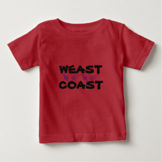 WEAST COAST: EAST & WEST COAST BABY TODDLER TSHIRT