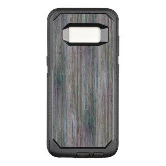 Weather-beaten Bamboo Wood Grain Look OtterBox Commuter Samsung Galaxy S8 Case
