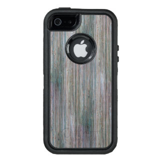 Weather-beaten Bamboo Wood Grain Look OtterBox iPhone 5/5s/SE Case