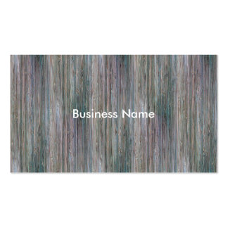Weather-beaten Bamboo Wood Grain Look Pack Of Standard Business Cards
