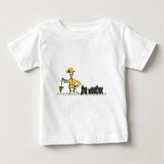 Weather Forecast in rainwear Baby T-Shirt