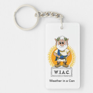 Weather in a Can Keychain