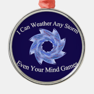 Weather Metal Ornament