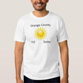 weather Orange County Shirt