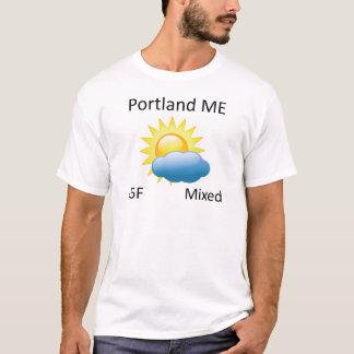 weather Portland ME T-Shirt