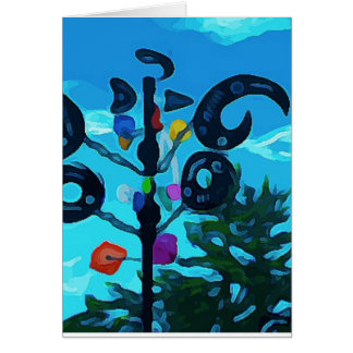 Weather Vane in Sedona Card