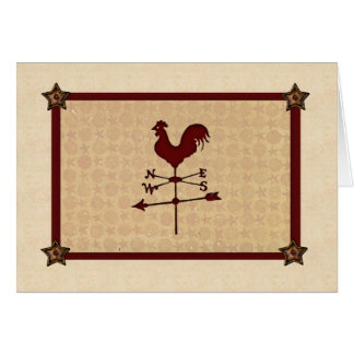 Weather Vane Thinking Of You Card (Large Print)