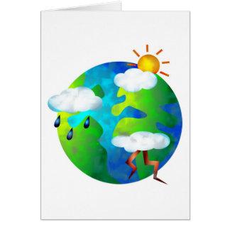 Weather World Card