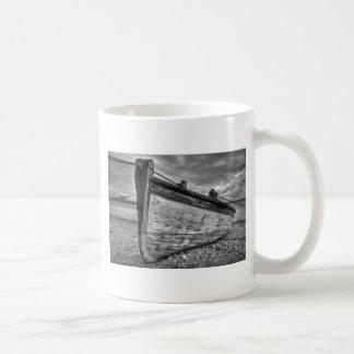 Weather worn Lancashire fishing boats Mug
