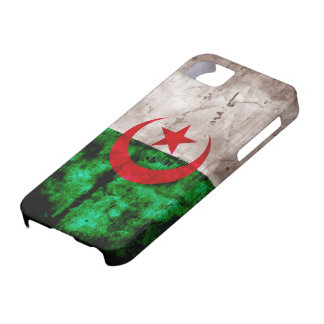 Weathered Algeria Flag iPhone 5 Case