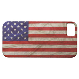 Weathered American Flag Case For The iPhone 5