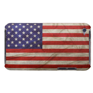 Weathered American Flag iPod Touch Cases