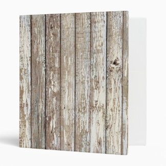 Weathered Barn Wood 3 Ring Binder