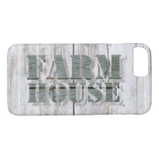 weathered barn wood western country farmhouse iPhone 8/7 case