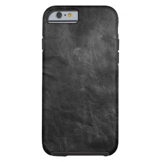 weathered black leather tough iPhone 6 case